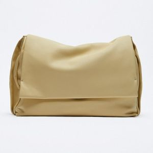 Soft leather city bag